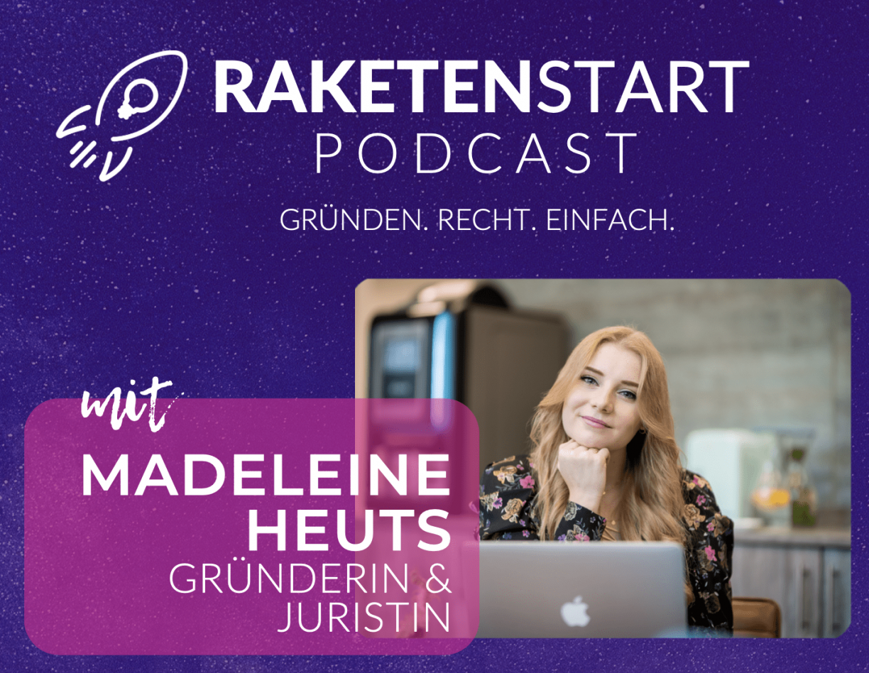 RAKETENSTART Podcast Cover