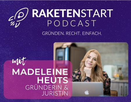 RAKETENSTART Podcast Cover